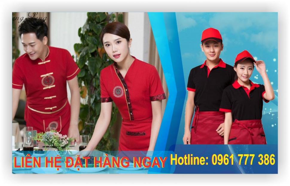 May đồng phục nhà hàng, đồng phục khách sạn giá rẻ